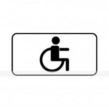 Дорожный знак 8.17 «Инвалид» 700 x 350мм