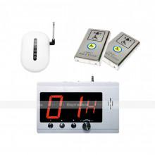 Комплект системы вызова помощи ТИФЛОВЫЗОВ ПС-1099 с двумя антивандальными кнопка из нержавеющей стали