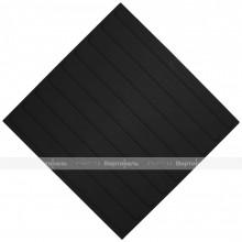Плитка тактильная (направление движения, полоса) 500х500х4, ПУ, черный