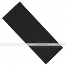 Плитка тактильная (направление движения, зона получения услуг) 180х500х4, ПУ, чёрный, самоклей