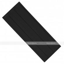 Плитка тактильная (направление движения, зона получения услуг) 180х500х4, ПУ, чёрный