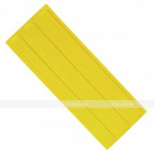 Плитка тактильная (направление движения, зона получения услуг) 180х500х4, ПУ, желтый