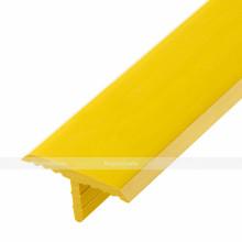 Лента тактильная направляющая, антивандальная, ВхШ 5х30, жёлтая