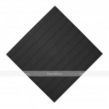 Плитка тактильная (направление движения, полоса) 500x500x4, ПУ, черный, самоклей