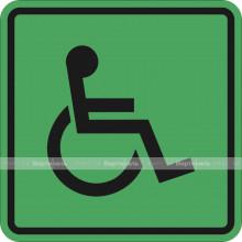 Пиктограмма СП-01 Доступность для инвалидов всех категорий. 150 x 150 х 4 мм